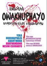 Xhosa bullying flyer